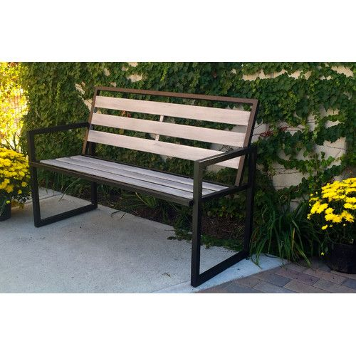 Pleasing Montgomery Steel Garden Bench In 2019 Bench Contemporary Pdpeps Interior Chair Design Pdpepsorg