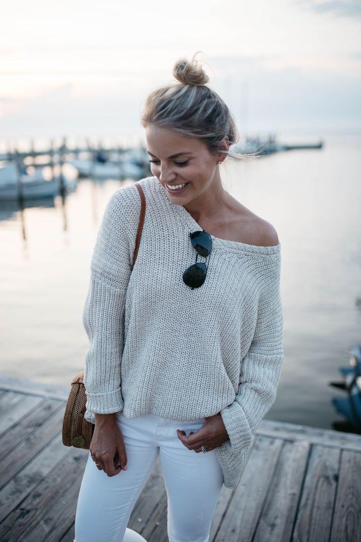 Ocean beach fire island clothes pinterest slouchy sweater