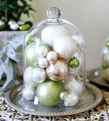 christmas decorations Holidays Pinterest Centerpieces