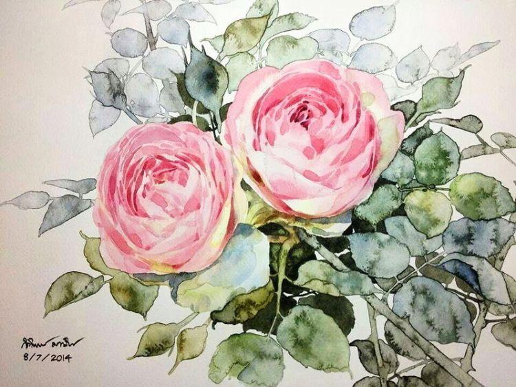 Gallery Ru Foto 39 Ti Watercolor Lanaluz Akvarelnye