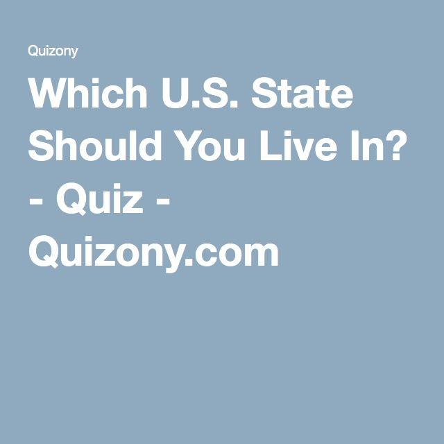 16e016f39 Which U.S. State Should You Live In  - Quiz - Quizony.com
