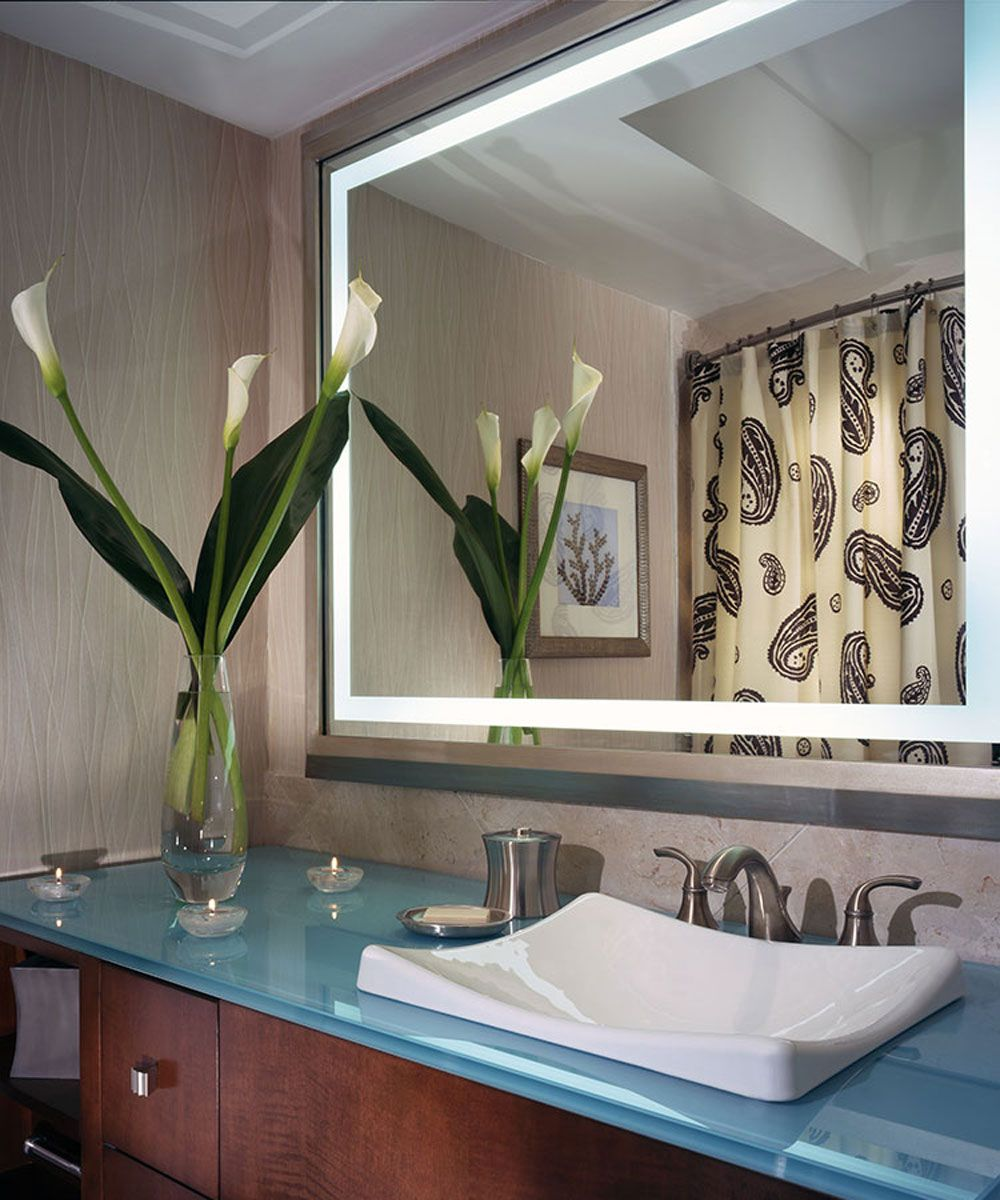 Momentum Lighted Mirror By Electric Mirror Mom2349 Mu04 Bathroom Mirror Mirror With Lights Led Mirror Bathroom [ 1200 x 1000 Pixel ]