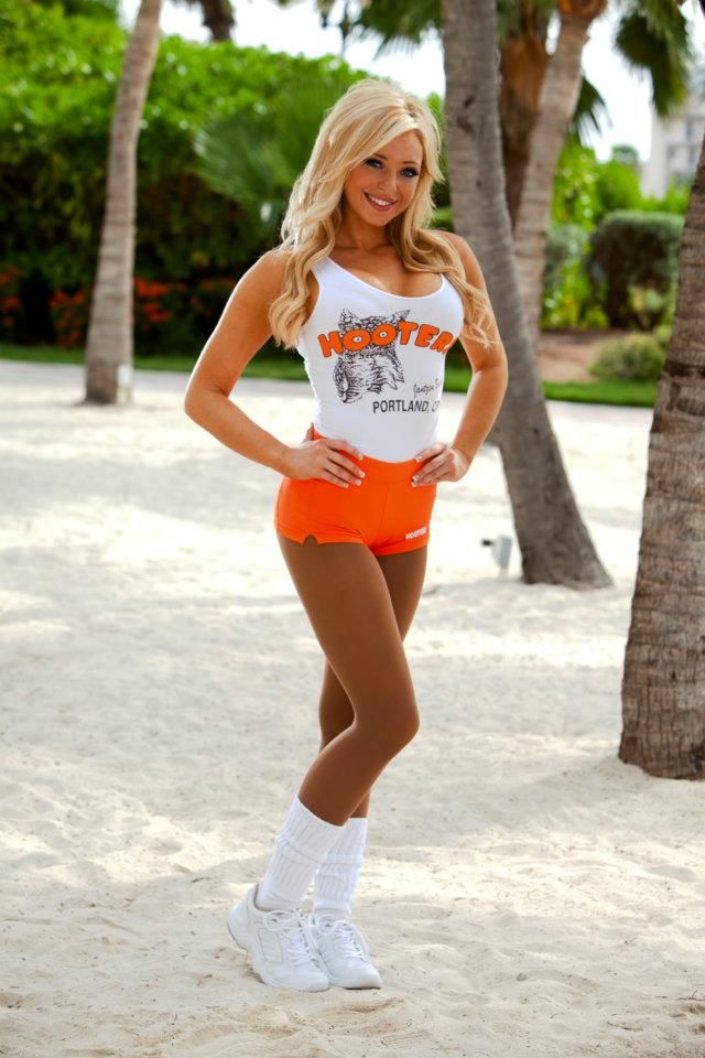 pantyhose hooters girl outfit