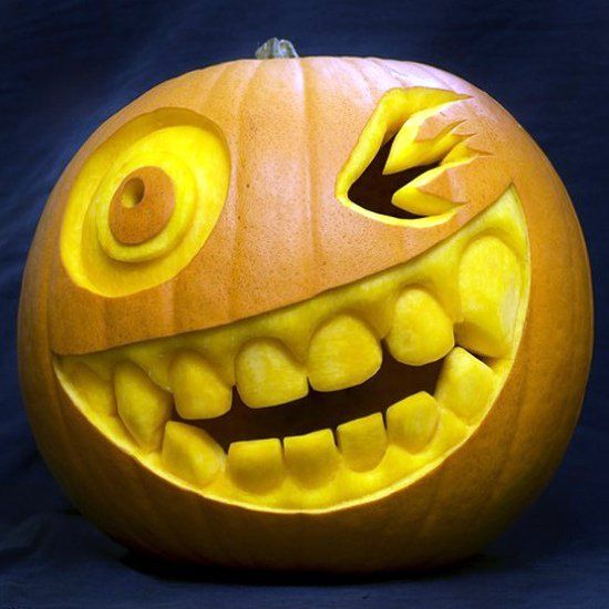 cool pumpkin faces ideas how to carve pumpkin faces tips how to ...