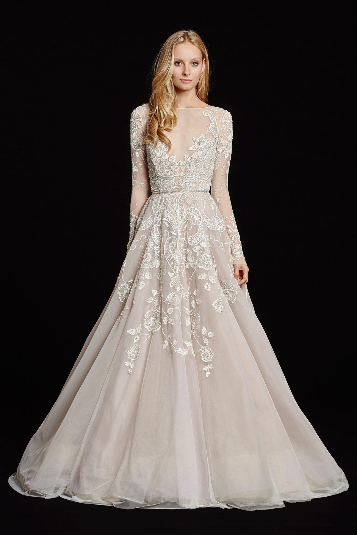 Hayley paige aline wedding dress style hayley say yes