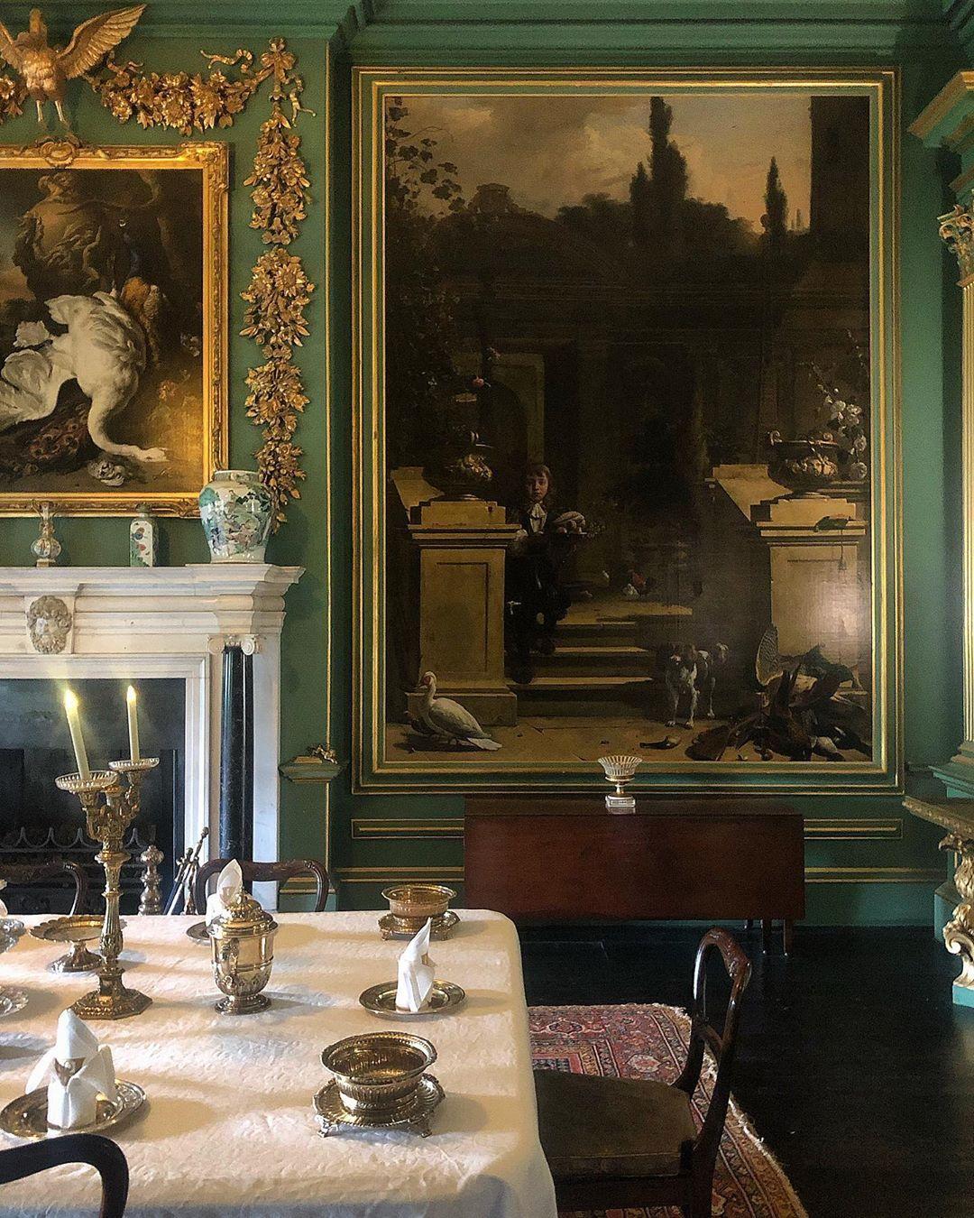 Hondecoeter Heaven #Interiors #countryhouse #fulllook
