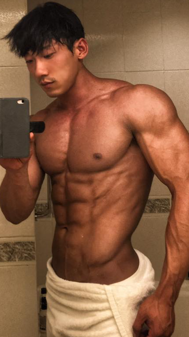 Ripped Asian Hunk  Photo  My Dream Muscular Beef Cake -8349