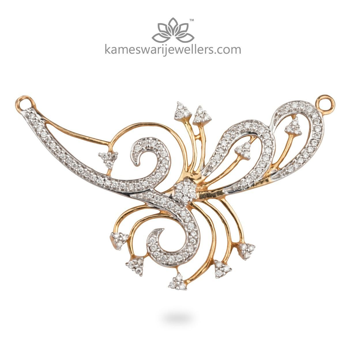 Dhriti mangalsutra pendant wedding pinterest pendants diamond