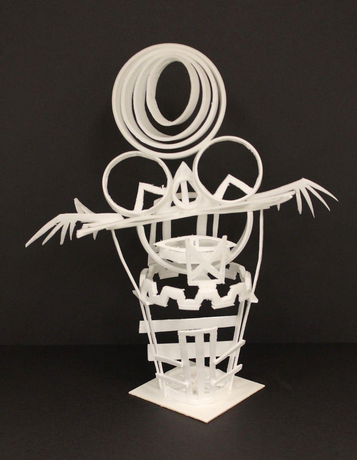 Styrogami Styrofoam Cup Sculpture