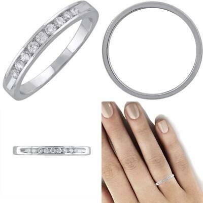 1 10 Carat Channel Set Round Diamond Wedding Band Ring In 14k Gold Ebay In 2020 Round Diamonds Wedding Band Wedding Ring Bands Diamond Wedding Bands