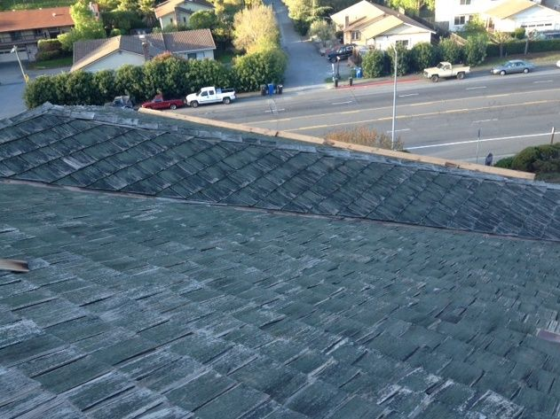 Pic Of The Day Replacing Wood Shales With New Title 24 Cool Roofing System Presidential Designer Solaris Shingles Roofing Shingling Title 24