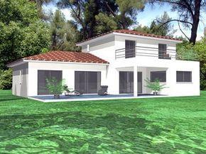 Découvrez Les Plans De Cette Une Maison Contemporaine En Provence Sur Www. Construiresamaison.com