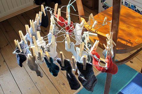 Wäschespinne Mini Drahtbügel Reinigung Kleiderbügel Upcycling ...