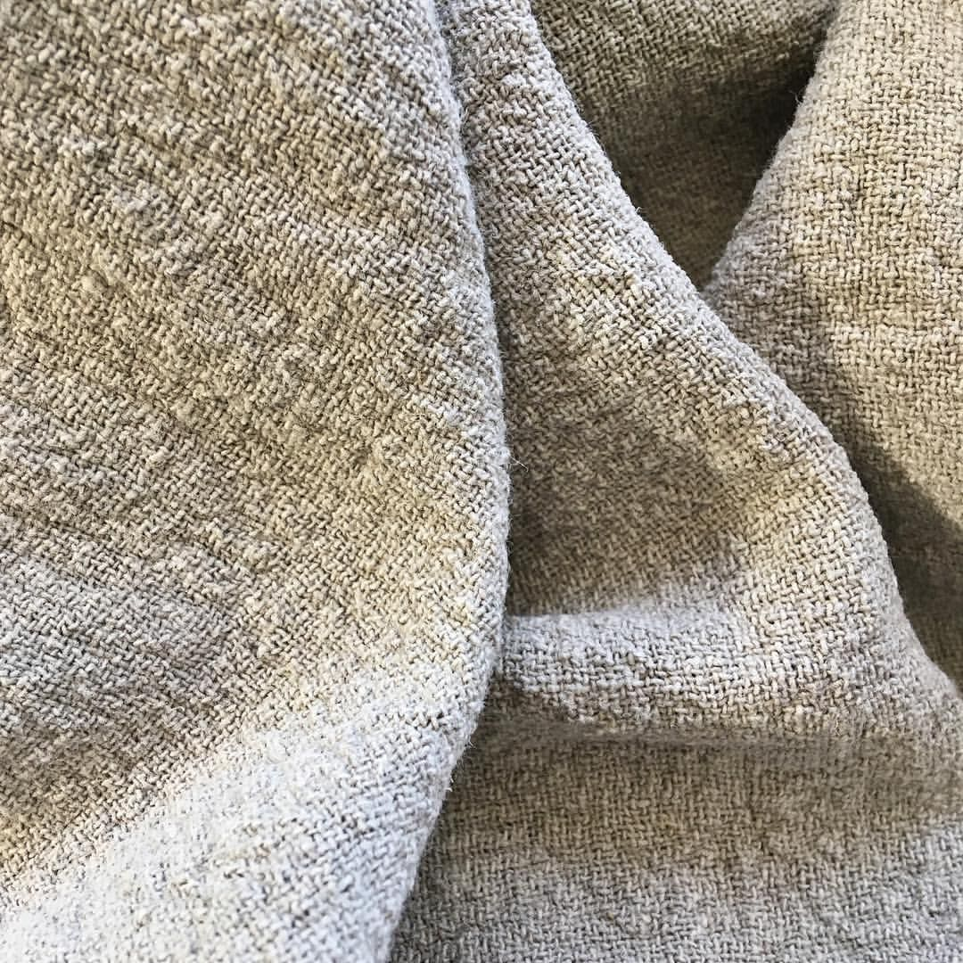 1c142a3416f #linen #woven #fabric #cream #oatmeal #texture #slowfashion #inspired  #maker #sewing #handcrafted #style…