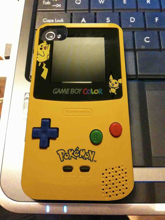 finest selection 11fc9 5f0d4 Gameboy Color Pokemon - iPhone 4 / iPhone 4S / iPhone 5 Case on Etsy ...