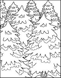Imagini Pentru Padurea De Brazi De Colorat Păduri Desene
