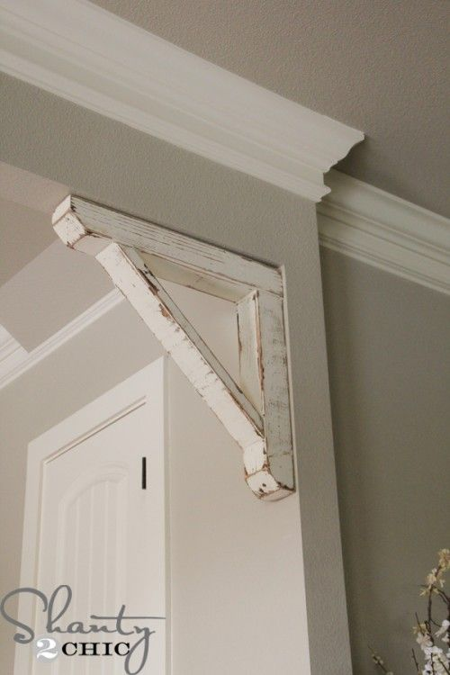 Diy Rustic Corbel Magnolia Home Decor Easy
