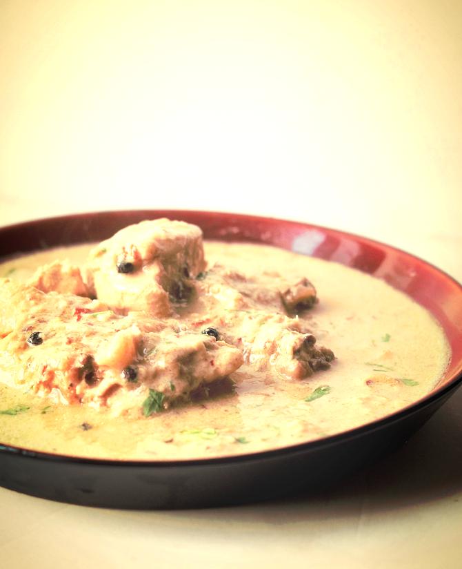 White Chicken Korma Recipe Safed Murgh Kurma Recipe Curry Etc