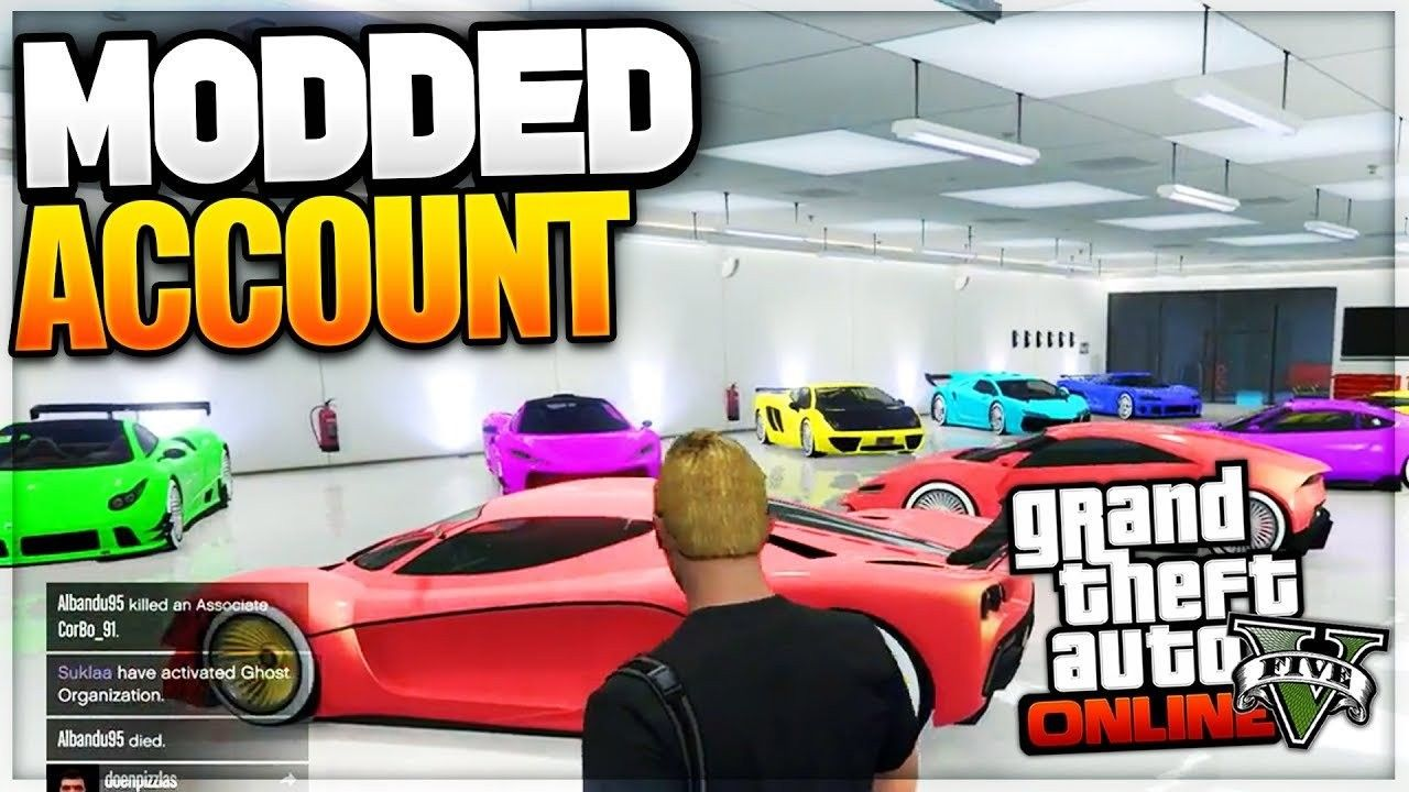 LUXURY GTA 5 MODDED ACCOUNT (ALL CONSOLES) Xbox one mods