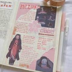 Nezuko Bullet Journal Aesthetic Bullet Journal Themes Bullet Journal Mood