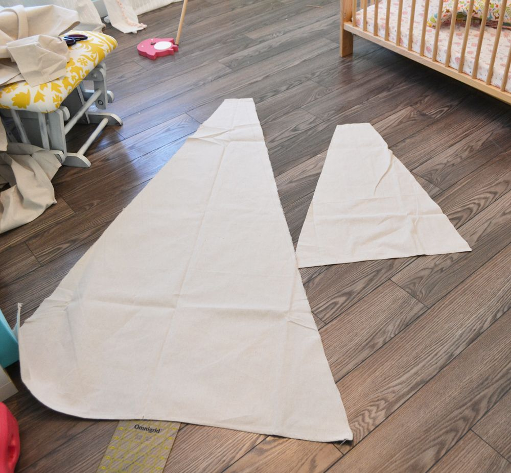 Sew a DIY Teepee Play Tent | The DIY Mommy & Sew a DIY Teepee Play Tent | The DIY Mommy | DIY tent and canopy ...