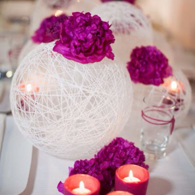 Easy to do decorations made with string