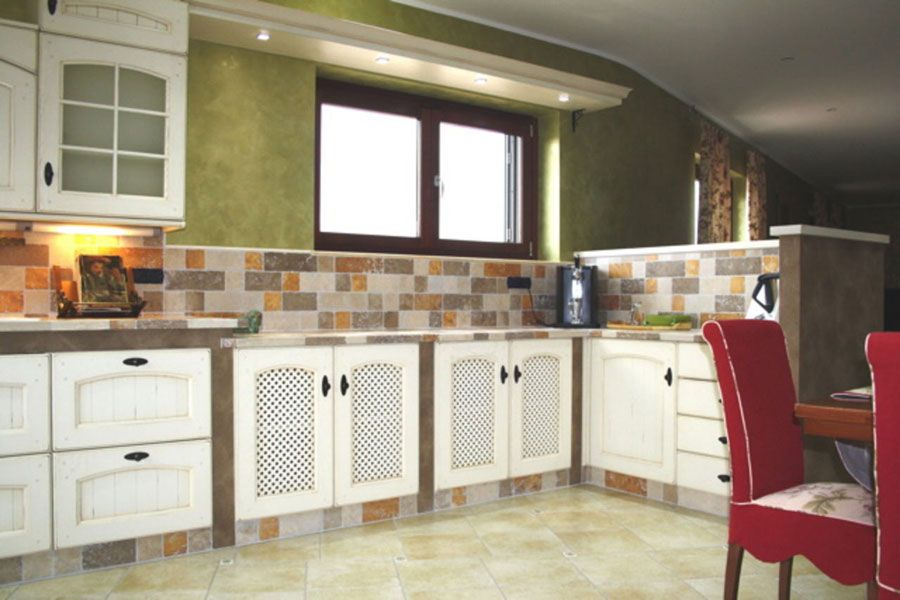 Cucine In Muratura Moderne. Cucina In Muratura Firmata Marchi ...