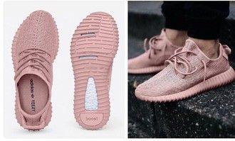 shoes pink pastel adidas yeezy