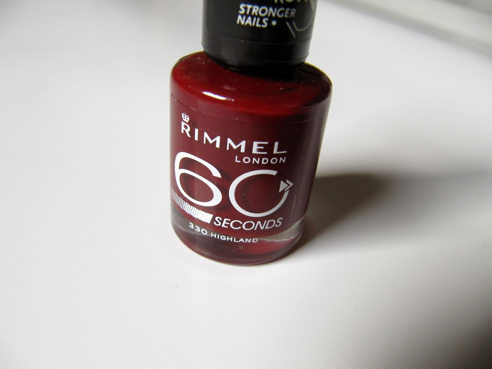 Rimmel London 60 seconds nail polish in shade 330 Highland | My Blog ...