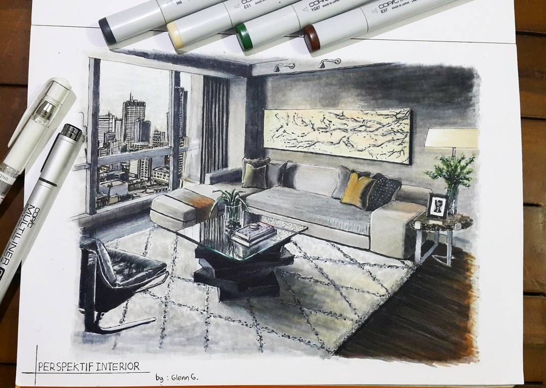 Drawings Of Architecture And Interior Design Interior Architecture Drawing Interior Design Website Drawing Interior