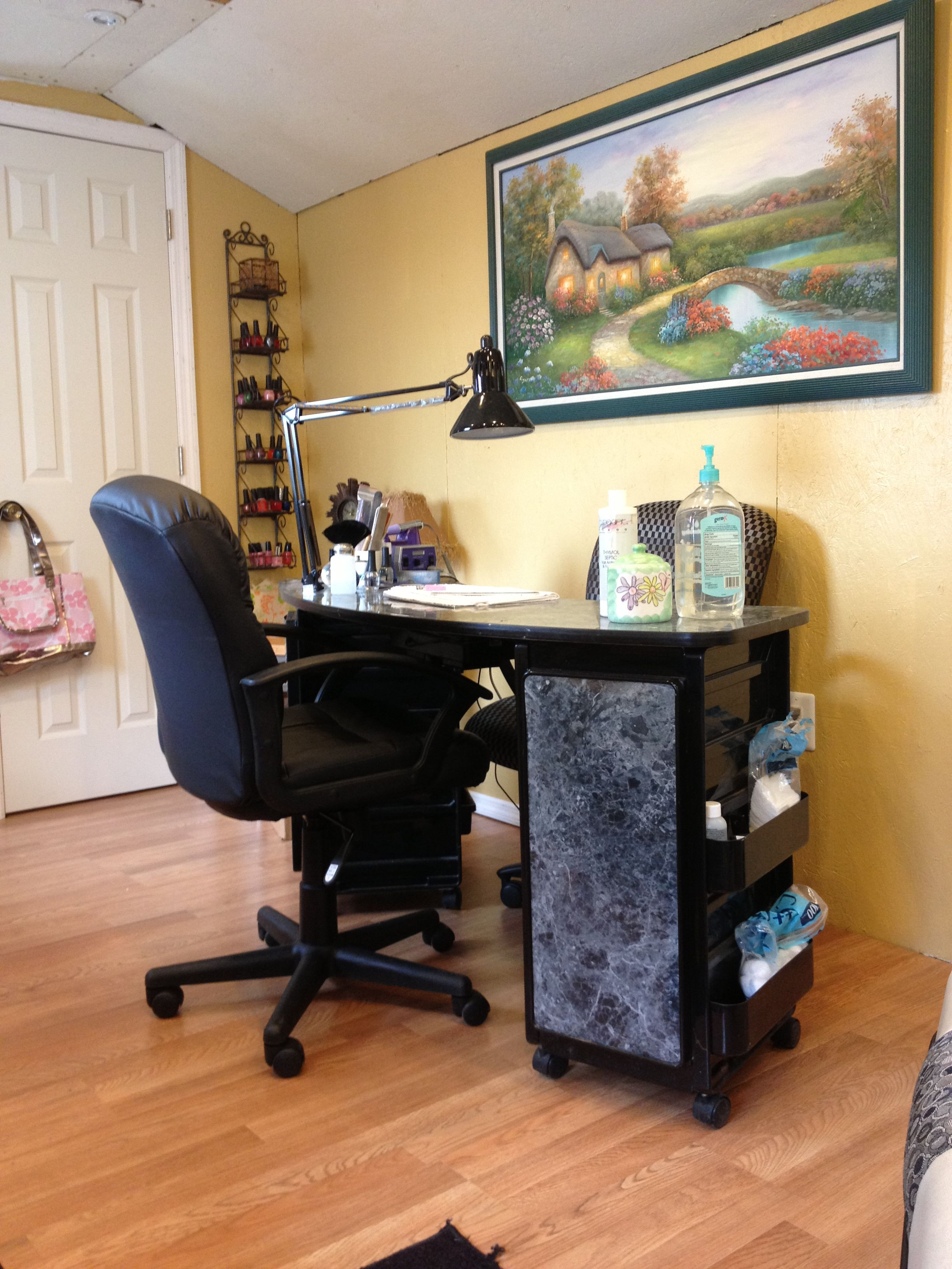 Salon Acrylic Nails & Manicure Station | Outback Nail Shack Salon ...