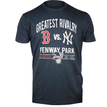 e1de0dcc Red Sox vs Yankees 47Brand Navy Rivalry Scrum T-Shirt TA0246 | Brian ...