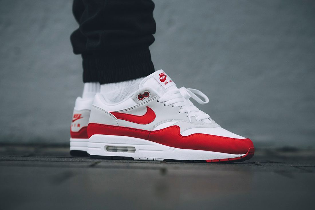 Nike's Air Max 1 'Anniversary Red' Makes a Surprise Return