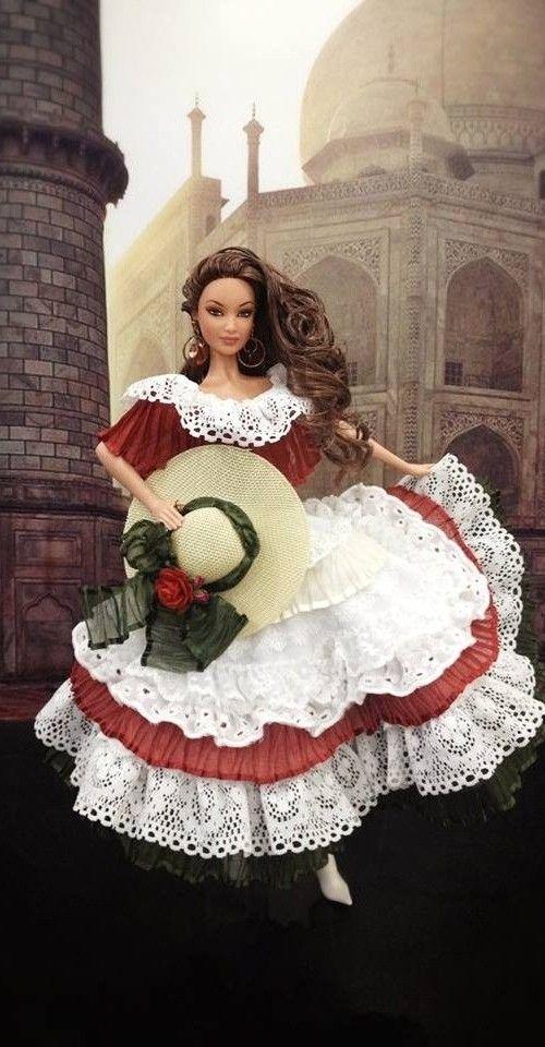 Barbie Barbie Costume Beautiful Barbie Dolls Doll Dress