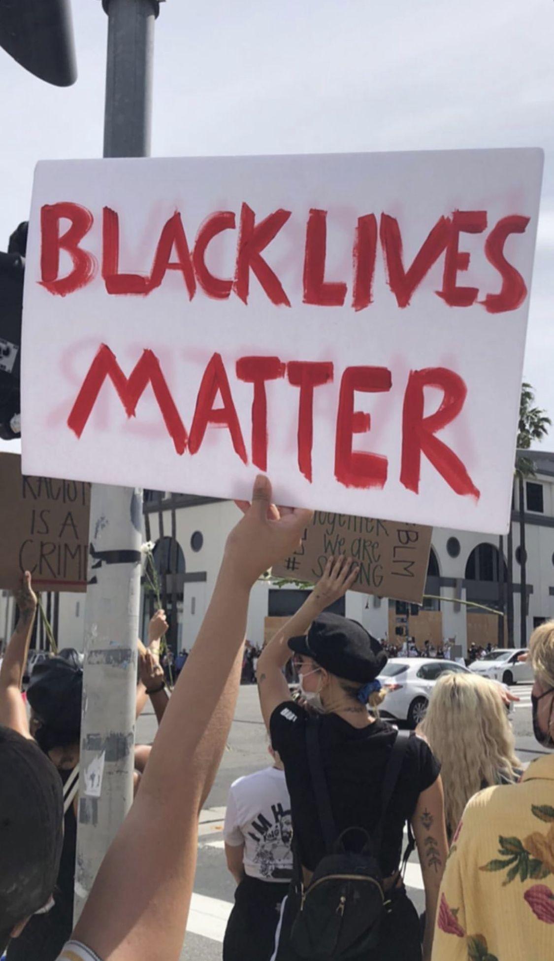 Black Lives Matter Black Lives Matter Black Lives Life
