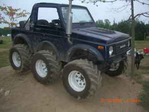Amazing Suzuki Samurai Six Wheeler For Sale On Craigslist Suzuki