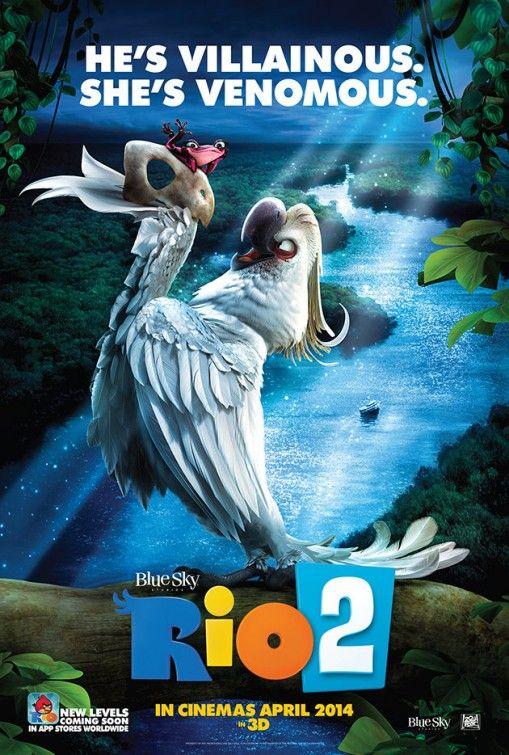 2 New Colorful Rio 2 Posters Rio Movie Rio 2 Movie Rio 2