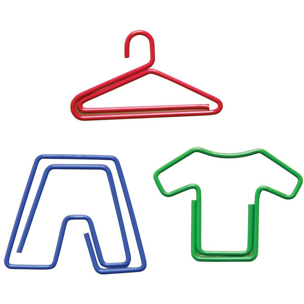 Amazon Com Paper Clips Carded Laundry Shaped Hanger Pants