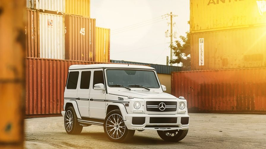 Beautiful White Mercedes G63 Hd Wallpapers Hd Wallpapers Iphone6