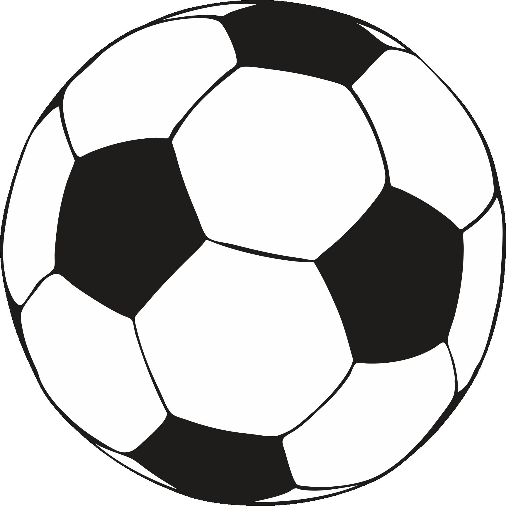 Soccer Ball Colouring