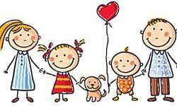 Te sorprenderá: 5 COSAS que los niños de 4 años tienen que saber | Familia  feliz dibujo, Familia con perro, Niños artísticos