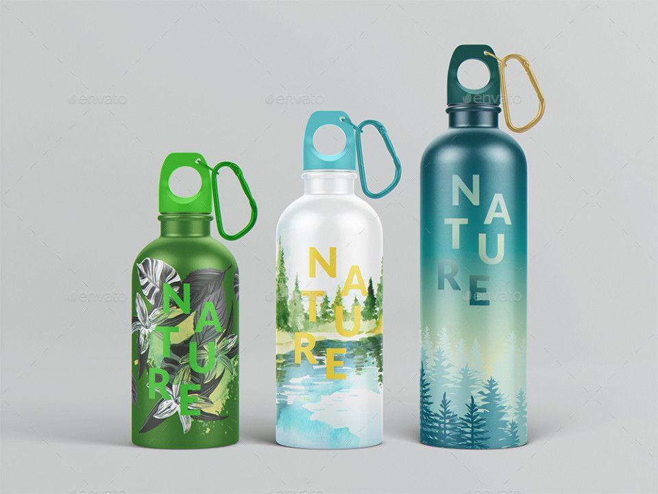 15 Water Bottle Mockup Psd For Branding Bottle Mockup Water Bottle Water Bottle Free