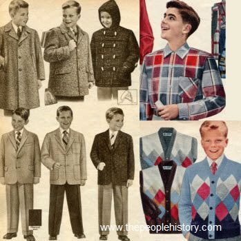1950s fashion for teenage boys