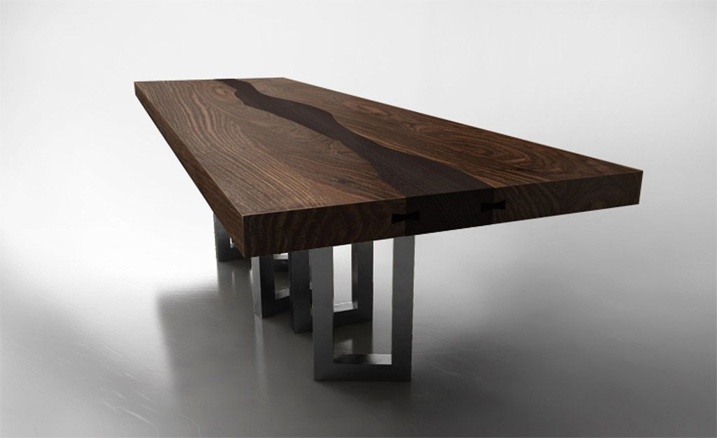 2 Solid Walnut Wood Dining Table Xx Dining Pinterest