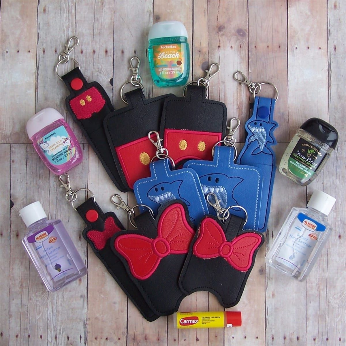 Lip Balm Hand Sanitize Holder Set Disney Cruise In 2019 Hand