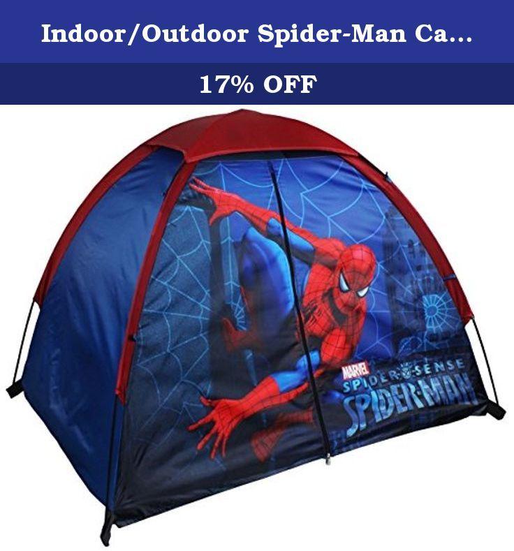Indoor/Outdoor Spider-Man C&ing/Play Tent With Floor. The Exxel Outdoors  sc 1 st  Pinterest & Indoor/Outdoor Spider-Man Camping/Play Tent With Floor. The Exxel ...