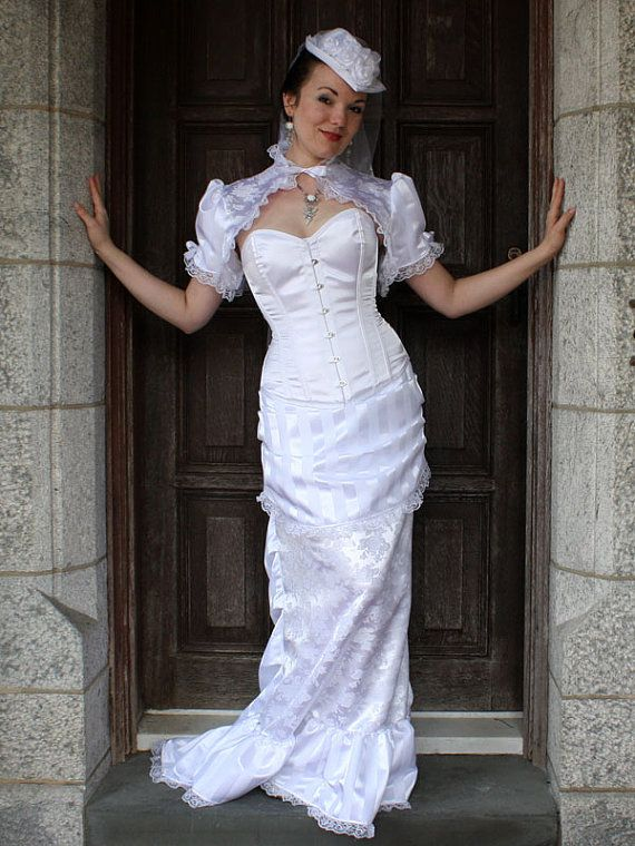 Rosa Mia Victorian Bridal Gown Made to Measure by auralynne ...