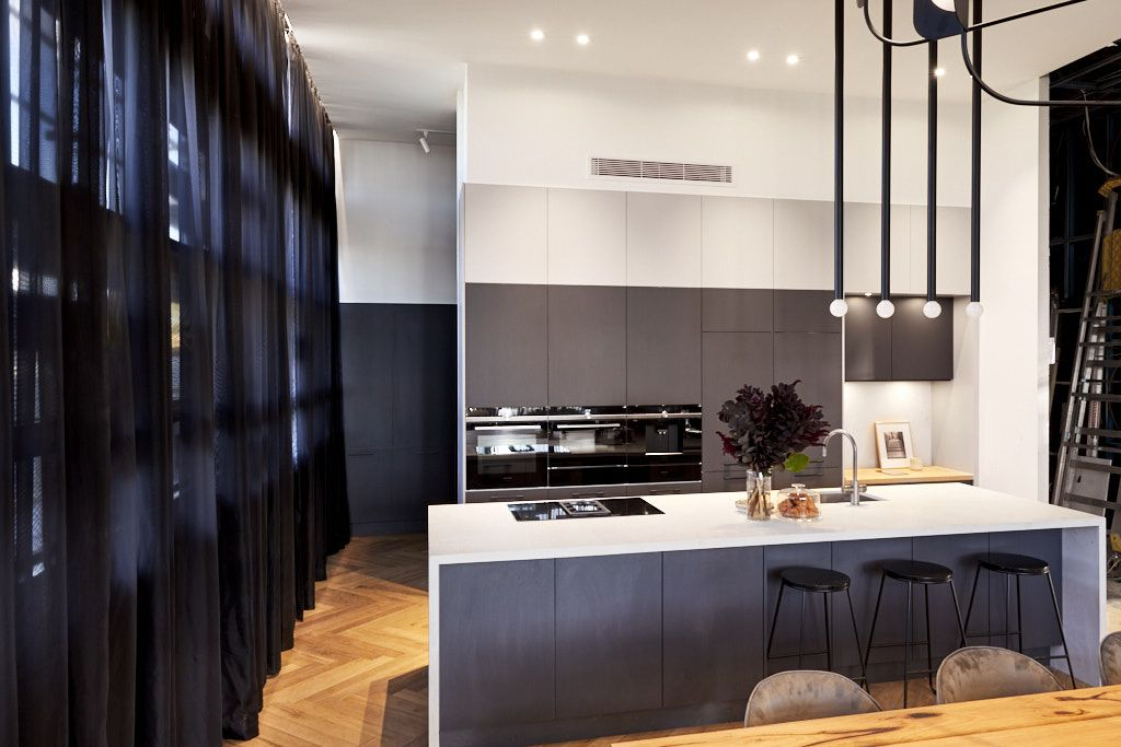 Best The Block 2018 Gatwick Kitchen Reveals Kitchen Design 400 x 300
