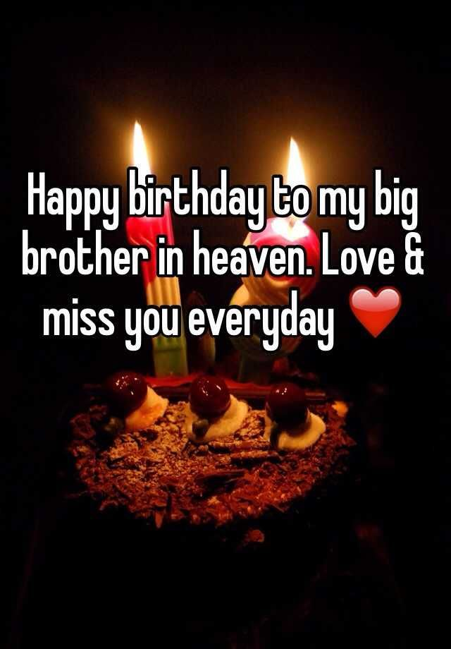 Image Result For Happy Birthday In Heaven Brother Brother Birthday Quotes Happy Birthday In Heaven Birthday In Heaven