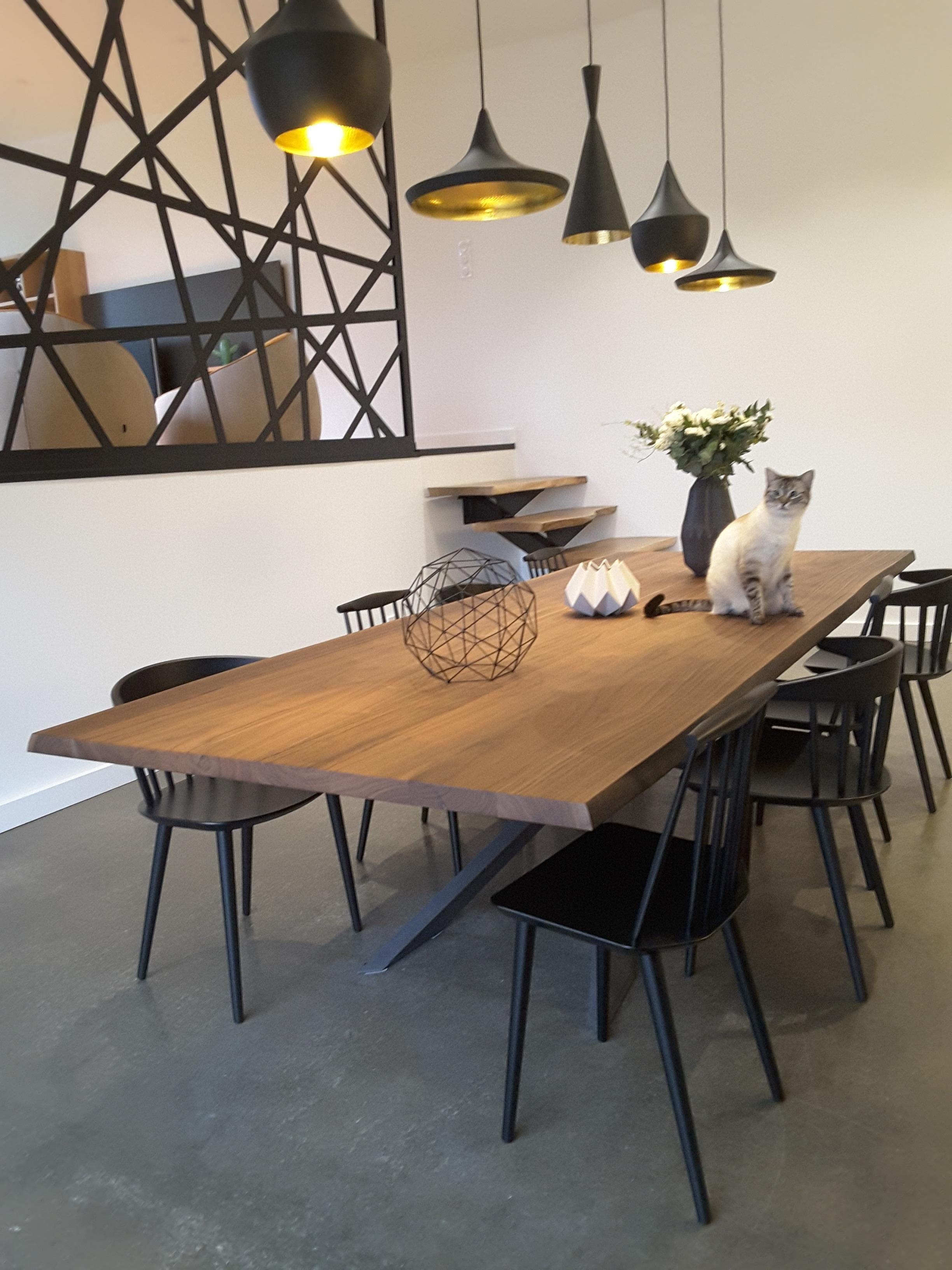 Am nagement d une maison contemporaine photo de mdi - Deco salle a manger contemporaine ...